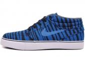 642061-401 Nike Stefan Janoski Mid Prm 黑蓝色男子休闲滑板鞋
