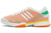 Q22144 adidas Asmc Barricade 狼牙系列亮白女子网球鞋