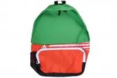 G91903 adidas Der BP 红绿色中性双肩背包