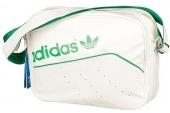 F79504 adidas三叶草白色中性单肩包