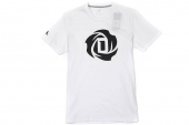 D83164 adidas Rose Logo Tee 2 罗斯系列白色男子短袖T恤