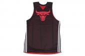 G78337 adidas Smrrn Rev Tank 黑红色男子篮球背心