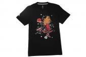 G76880 adidas Rose Ropedope T 罗斯黑色男子针织短袖T恤