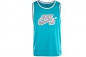 612791-338 Nike蓝色男子篮球背心