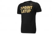 611294-010 Nike 3 Point Layup KD Shirt 杜兰特黑色短袖T恤