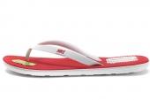 636545-661 Nike Solarsoft Thong 2 Soccer 红白色男子拖鞋