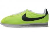 532487-700 Nike Classic Cortez Nylon 尼龙版荧光绿色男子阿甘鞋