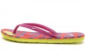 553486-501 Nike Solarsoft Thong II Print 暗紫色女子拖鞋