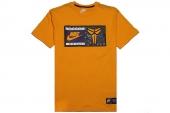 611349-739 Nike AS Kobe Jock Tag Teet 科比黄色男子短袖T恤