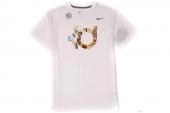 611312-100 Nike杜兰特白色男子针织短袖T恤