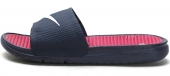576427-412 Nike Benassi Solarsoft Soccer 藏青蓝色男子拖鞋