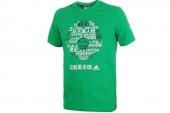 F93164 adidas Cmtatr Ouote T 绿色世界杯足球图案纪念T恤