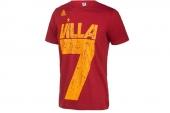 F77005 adidas Villa Tee 西班牙7号比利亚世界杯T恤