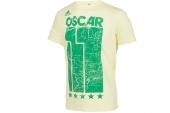 F77008 adidas Oscar Tee 巴西队11号奥斯卡世界杯T恤