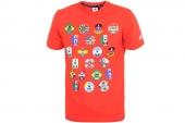 F94784 adidas WC Winner Tee 橙色男子针织短袖T恤