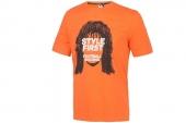 F95183 adidas橙黄男子短袖T恤
