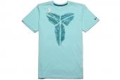 589464-448 Nike科比冰蓝色男子针织短袖T恤