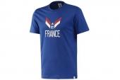 F39499 adidas2014世界杯法国队球迷版T恤