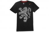 646675-010 Nike AS Dutch Core Plus Tee  荷兰队黑色世界杯短袖T恤
