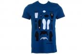 F78463 adidas Decon Sst Tee 三叶草深蓝色男子短袖T恤
