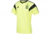 F83928 adidas世界杯西班牙队训练短袖T恤