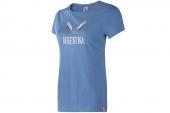 F39491 adidas阿根廷队球迷版女子针织短袖T恤