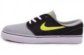 615957-030 Nike Zoom Stefan Janoski Cnvs 黑灰色男子休闲板鞋