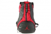 612843-695 Jordan乔丹黑红色男子双肩背包