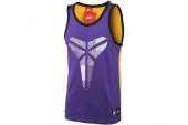 607815-547 Nike科比系列紫色男子篮球背心
