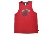 G78357 adidas Smrrn SL NBA热火红色男子篮球背心
