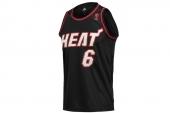 X18465 adidas NBA Pak Replica 黑色男子篮球背心
