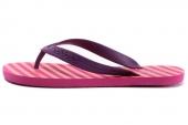 F39266 adidas Flipper W 海湾洋红女子条纹图案拖鞋