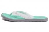 D66111 adidas SC Beach 3Point W 灰绿色女子拖鞋