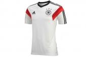 D83064 adidas Dfb Trg Jsy 德国白色男子短袖T恤