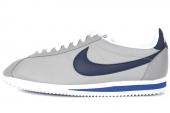 532487-004 NikeClassic Cortez Nylon 尼龙版灰色男子阿甘鞋