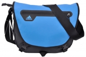 F89218 adidas Mess M 黑蓝色男子单肩包