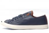 145598 Converse Jack Purcell 皮革版薄底款男子硫化鞋