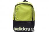 S11141 adidas N Gca Logo BP 橙绿色中性背包