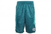 F96274 adidas Rose Chisel Sho 罗斯蓝绿色男子篮球短裤