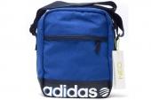 S11143 adidas N Gca Logo Org 蓝色中性单肩包