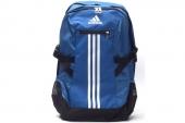 M34064 adidas BP Power II LS 三条纹系列蓝色中性背包