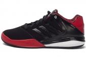 C76126 adidas D Rose Englewood TD 罗斯系列黑红色男子篮球鞋