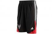 F87743 adidas Wntr Hps Revsho 公牛队黑红色男子篮球短裤