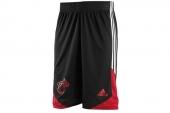 F87745 adidas Wntr Hps Revsho 热火黑红色男子篮球短裤