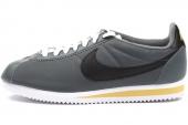 532487-003 Nike Classic Cortez Nylon 尼龙版轰炸灰色男子阿甘鞋