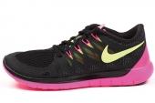 642199-002 Nike Free 5.0 赤足系列黑红色女子跑步鞋