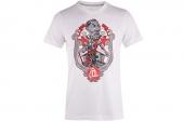 M63271 adidas Rose Glory Days 罗斯系列白色男子针织短袖T恤
