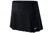 621020-010 Nike黑色女子网球梭织短裙