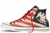 145507 Converse Chuck Taylor All Star 美式图腾试了中性帆布鞋