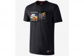 618916-010 Nike科比黑色男子针织短袖T恤